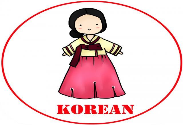 Các từ vựng tiếng Hàn thông dụng
