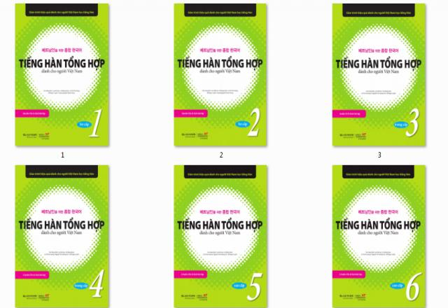 5 giáo trình tự học tiếng Hàn không thể thiếu cho người mới bắt đầu.