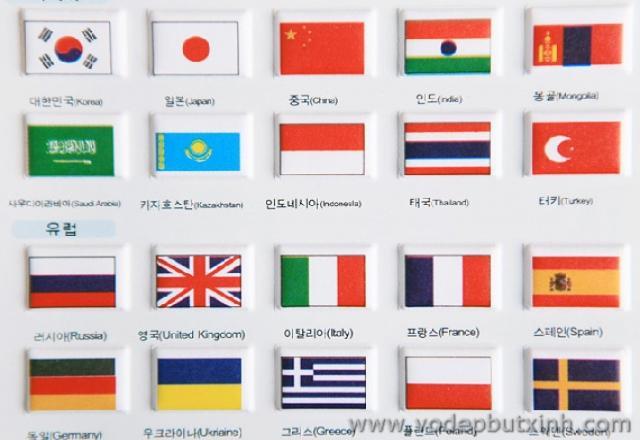 Từ vựng tiếng Hàn quốc gia và các ngày quốc lễ tại Hàn Quốc