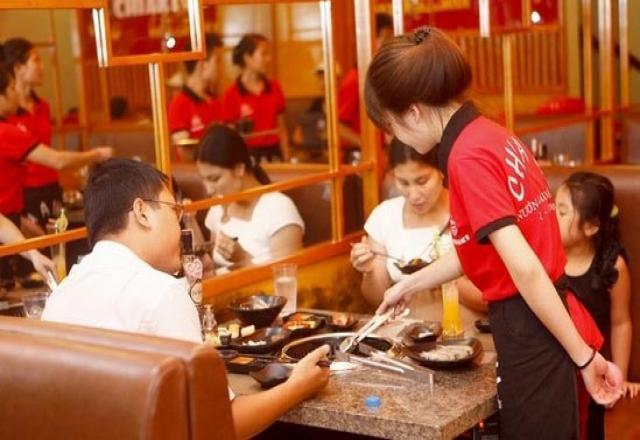 Sổ tay từ vựng tiếng Hàn trong nhà hàng