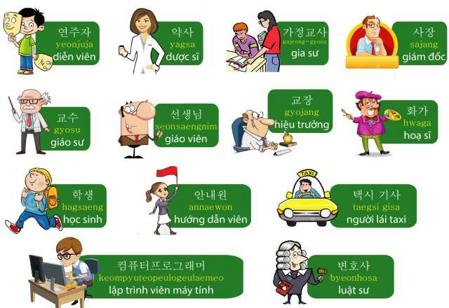 Học tiếng Hàn cơ bản qua 100 động từ thông dụng