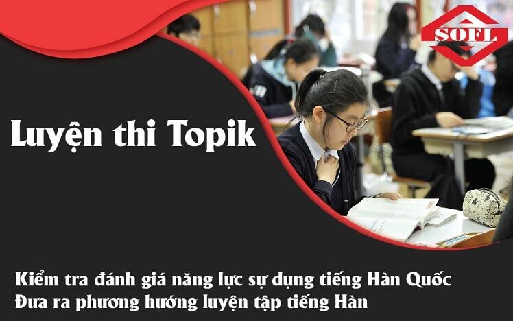 Tiếng Hàn luyện thi topik