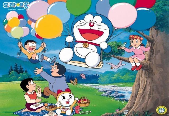 Học tiếng Hàn qua truyện tranh Doraemon: Khăn trải bàn thần kỳ