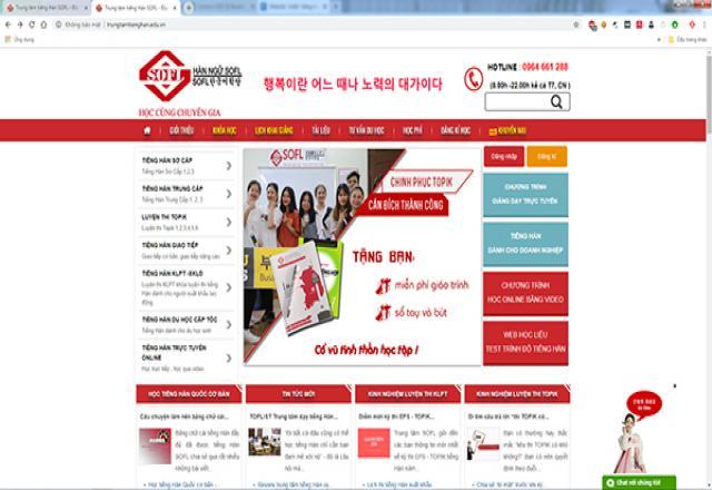 """Website """"chiến"""" bảng chữ cái tiếng Hàn online hiệu quả"""