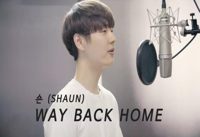 """Học tiếng Hàn qua video """"gây nghiện"""": Way back home (Shaun - 숀)"""