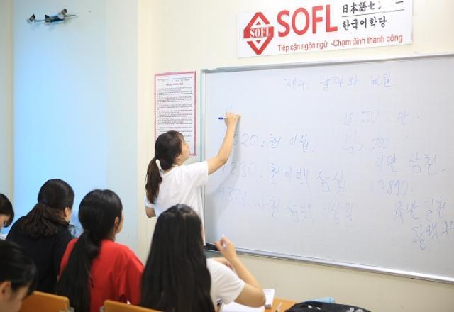 Dạy tiếng Hàn trung cấp ở Cầu Giấy - Hà Nội