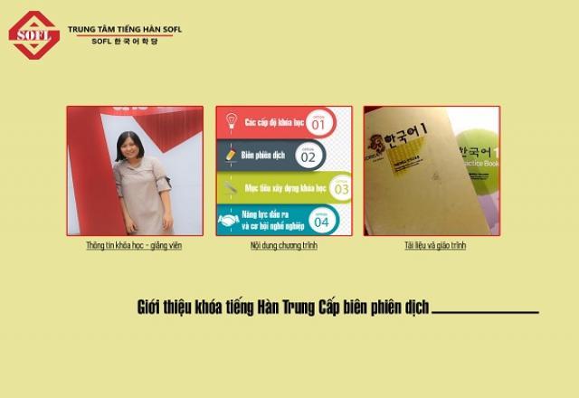 3 địa chỉ học Biên - Phiên dịch tiếng Hàn tại Tp. HCM tốt nhất