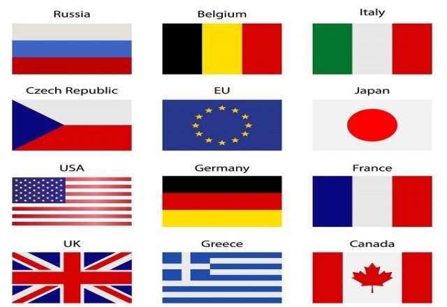 Từ vựng tiếng Hàn về các quốc gia trên thế giới